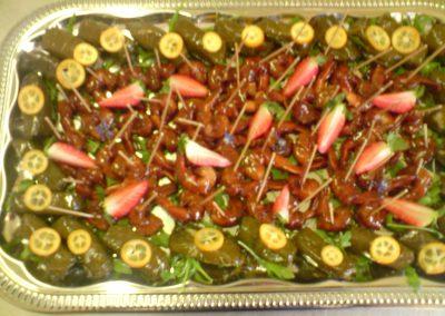 apéritif bonbon de crevettes