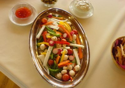 Légumes Dips en apéritif
