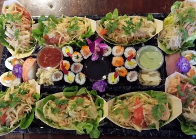 Mini buffets Asiatique