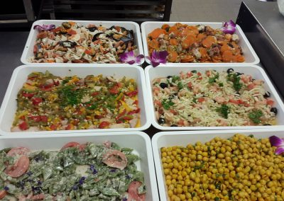 Choix de salades