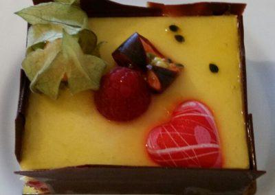 Dessert personnalisé