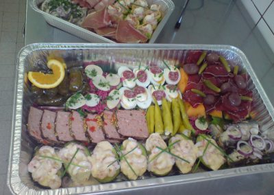 Mini buffet 7 personnes