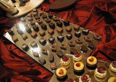 Plateaux desserts
