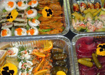 buffet 7 personnes