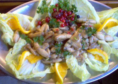 Salade de cuisses de grenouilles