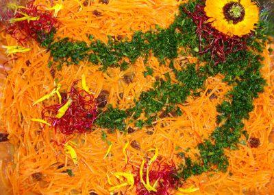 carottes à l'Indienne