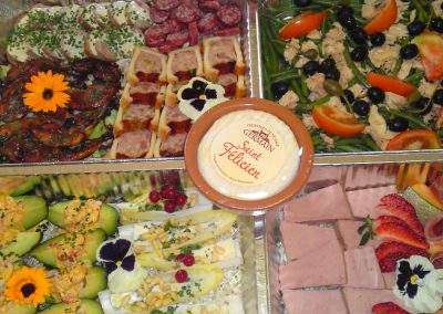 mini buffet balade en france