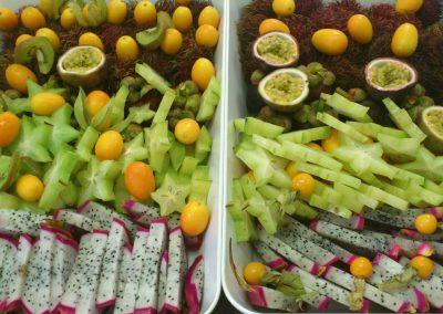 plateaux de fruits exotique