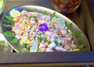 Salade de poulet à la menthe