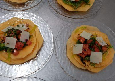 Carapaaciomelonalgues et pastèque