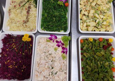 Buffet de salades tout les jours