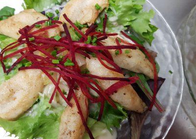 saladine aux perchettes